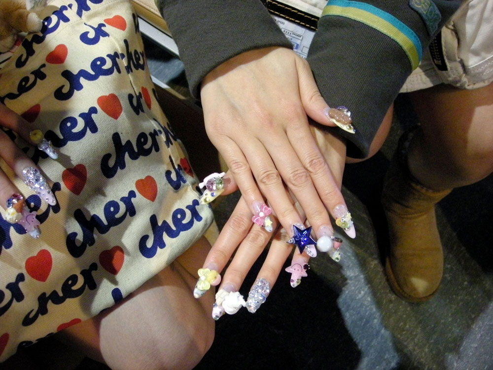 Acrylic Nails Fashion 2012