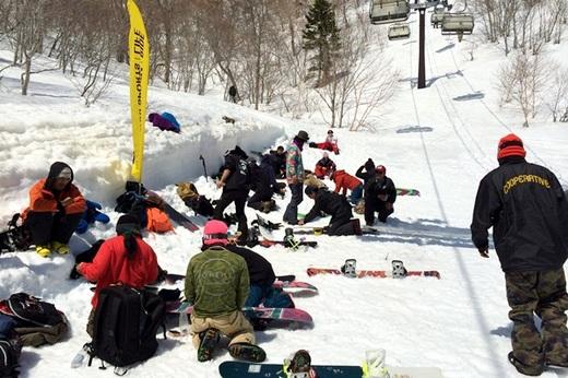 Kawaba Ski Resort_13 2014.3.28 -M&M BANKED SLALOM_2.jpg