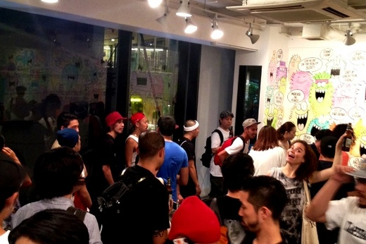 STUSSY GUEST ARTIST SERIES_KEVIN LYONS EXHIBITION_3.JPG