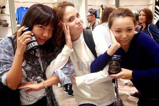 THE CHAZ BOJORQUEZ COLLECTIONLOS TOKYO LIVE PAINT SHOW_2.JPG